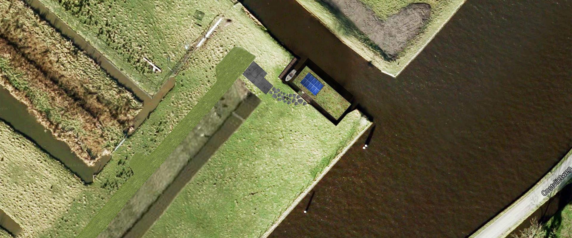 170425 Kniplaan luchtfoto topiew met ontwerp