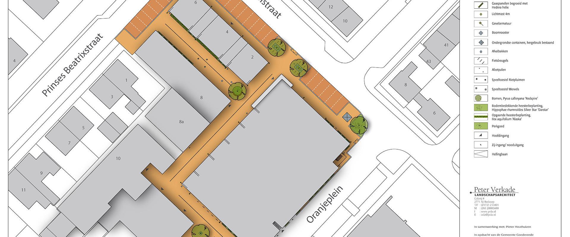 091118_ DO inrichtingsplan Oranjeplein presentatietekening